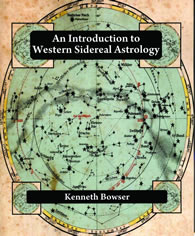 Intro to Western Sidereal Astrology book cover